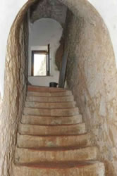 The Old Stairway - Die Alte Treppe - La Vecchia Scala