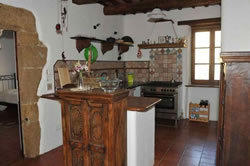 Kitchen First Floor - Cucina Al Primo Piano